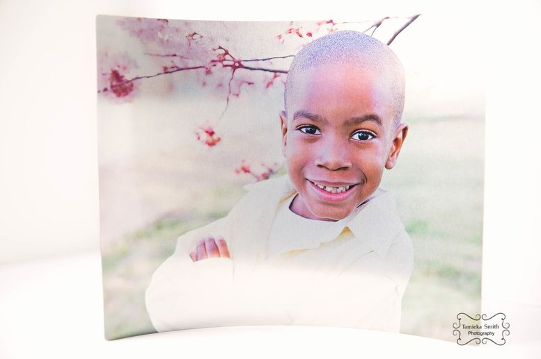 Northern Virginia Family Photographer in Woodbridge Curved Metal Print, Woodbridge Photographer, NOVA Photographer, Virginia Photographer, Military Family Photographer, Cherry Blossom Photographer, 2017 Cherry Blossoms