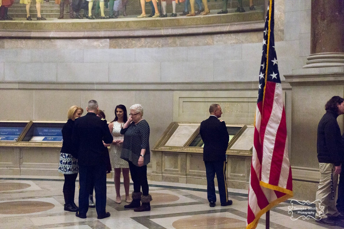 Army Promotion Ceremony at The National Archives