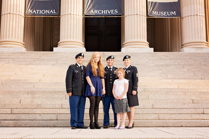 Military Family Photographer, National Archives Photographer, National Archives Promotion Photographer, Ft. Belvoir Photographer, Air Force Photographer, Pentagon Photographer, Archives Photographer, Northern Virginia Photographer
