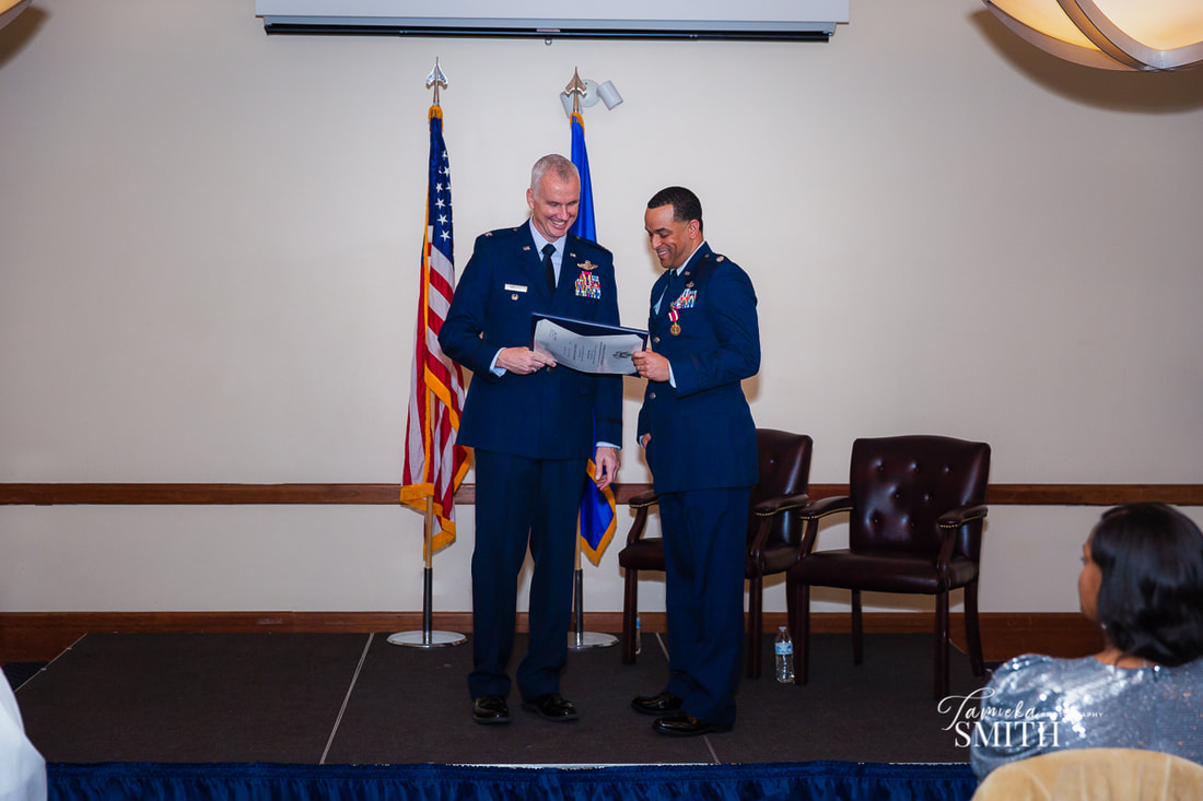 Air Force Retirement on Andrews AFB Maryland