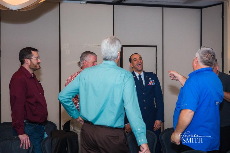 Great times at Retirement Ceremony at Andrews AFB, Maryland