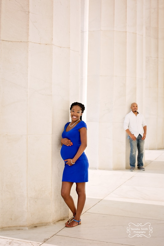 Maternity Portrait in Washington DC