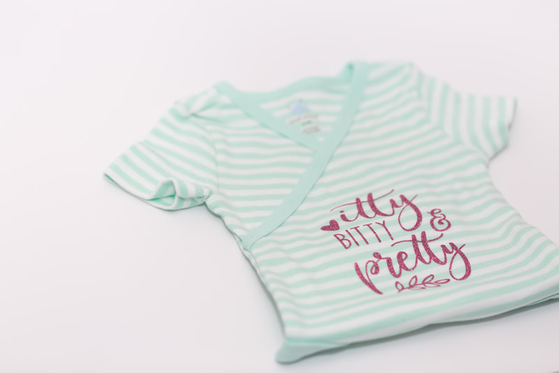 Custom Designed Onesie by Northern Virginia Designer