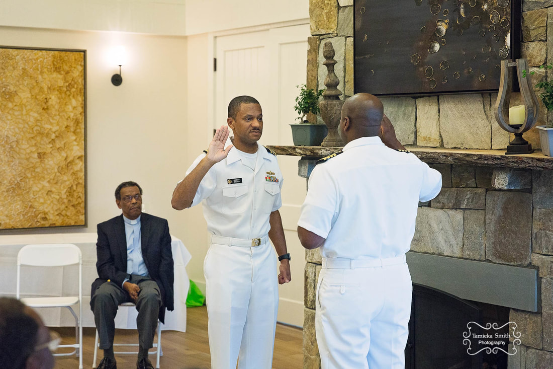 Navy Oath of Office, Tamieka Smith Photography, Military Photographer, Northern Virginia Military Photographer, Woodbridge Military Photographer
