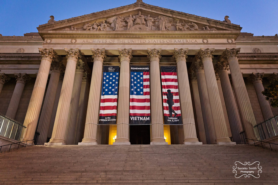The National Archives Museum in Washington DC