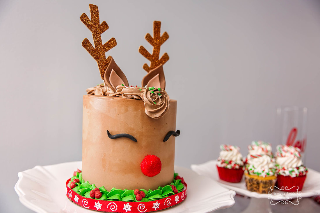 Northern Virginia Baker, Jazzy Cakes, Northern Virginia Family Photographer, Northern Virginia Military Photographer, Holiday Cakes