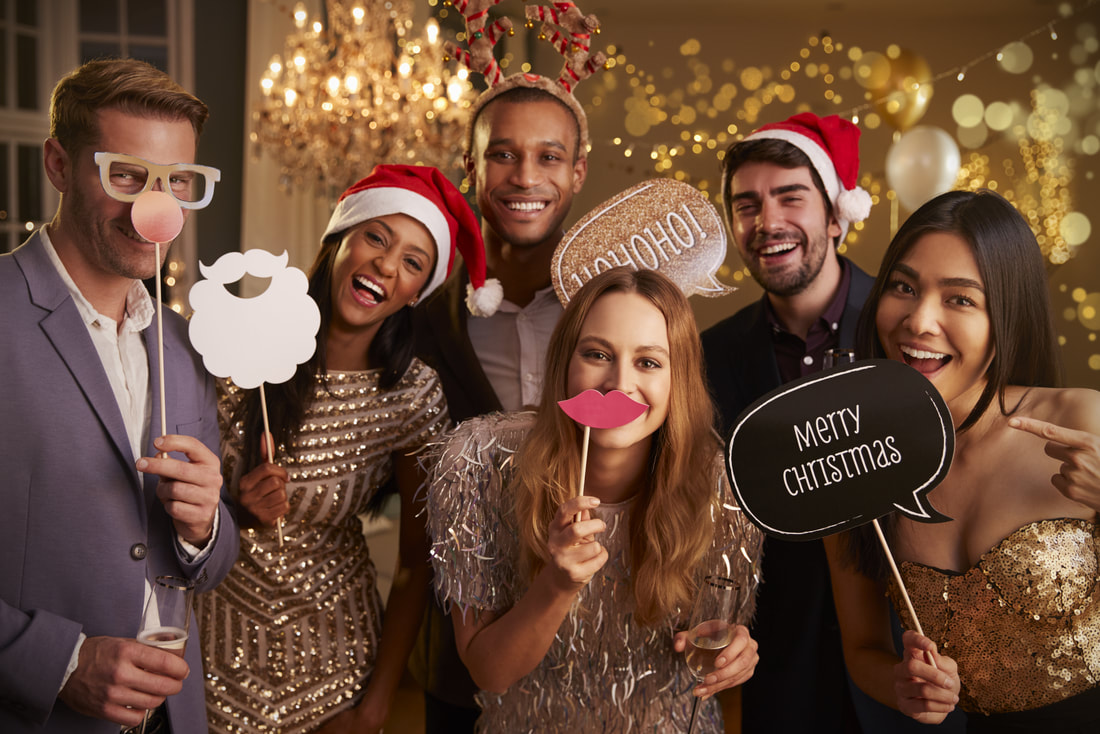 Holiday Christmas Party, Healthy Eating during the holidays, Guest Blogger