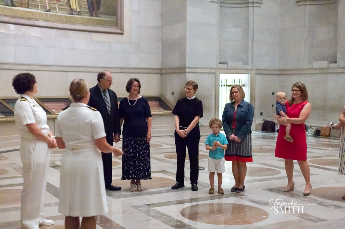 National Archives Photographer, National Archives Photography, NOVA Military Photographer, Northern Virginia Photographer, Woodbridge Photographer, Virginia Photographer, Singing happy birthday to military Mom