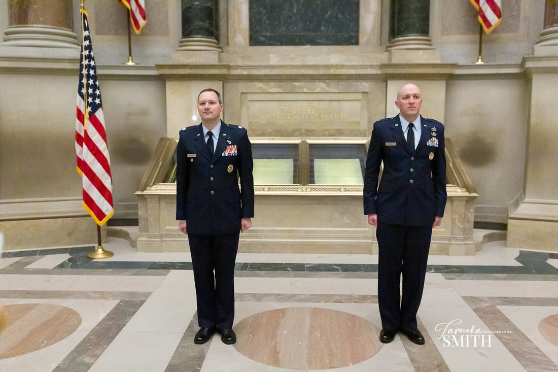Air Force Promotion Ceremony at The National Archives Museum