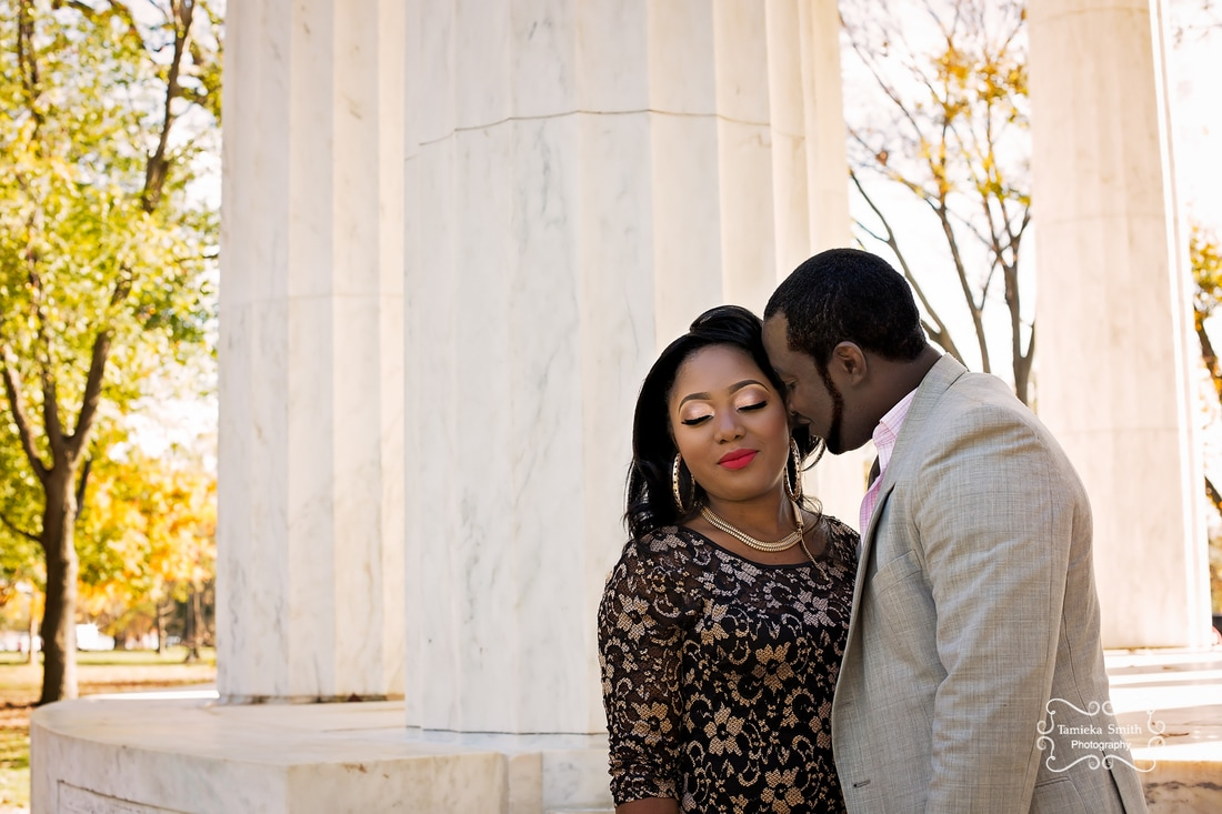 Engagement Portrait in Washington D.C.