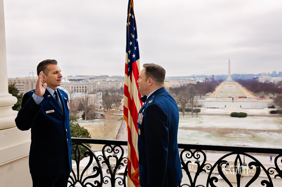 Northern Virginia Photographer for Air Force promotion ceremony in Washington DC