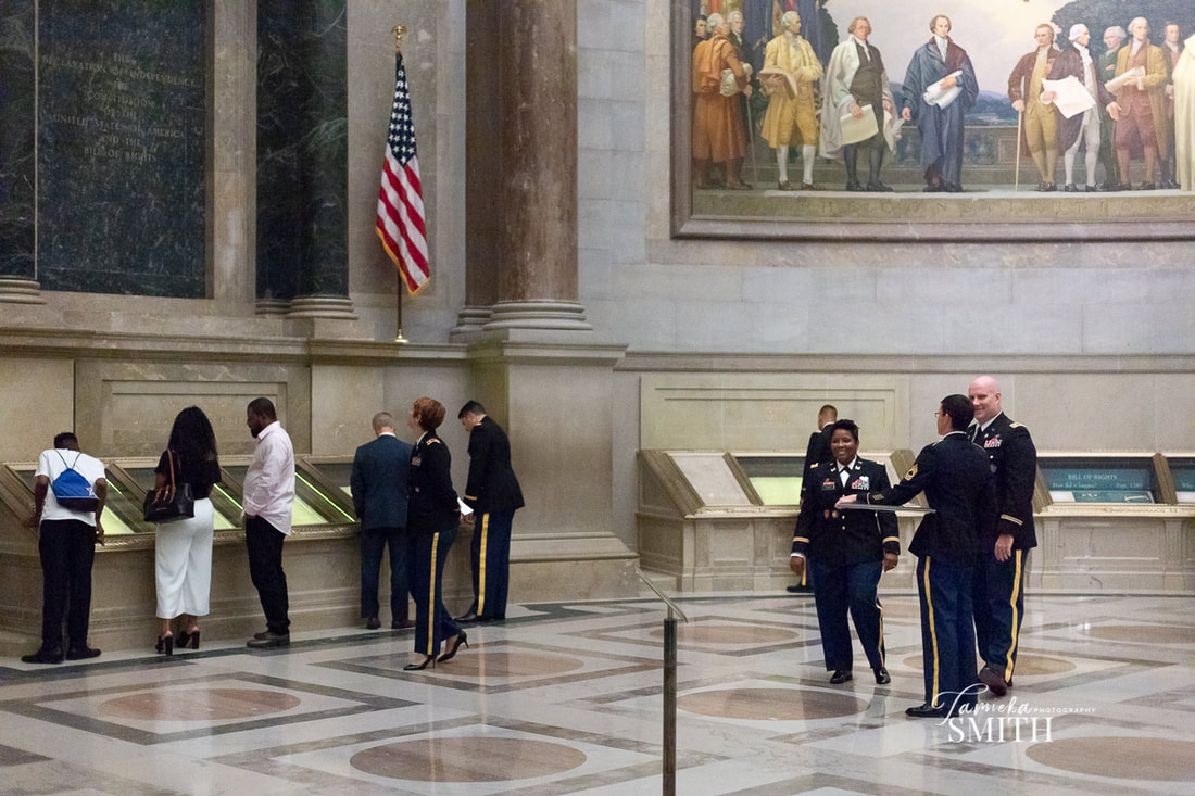 National Archives Military Ceremony, Washington DC Event Photographer, Washington DC Military Photographer, Woodbridge Military Photographer, NOVA Military Photographer