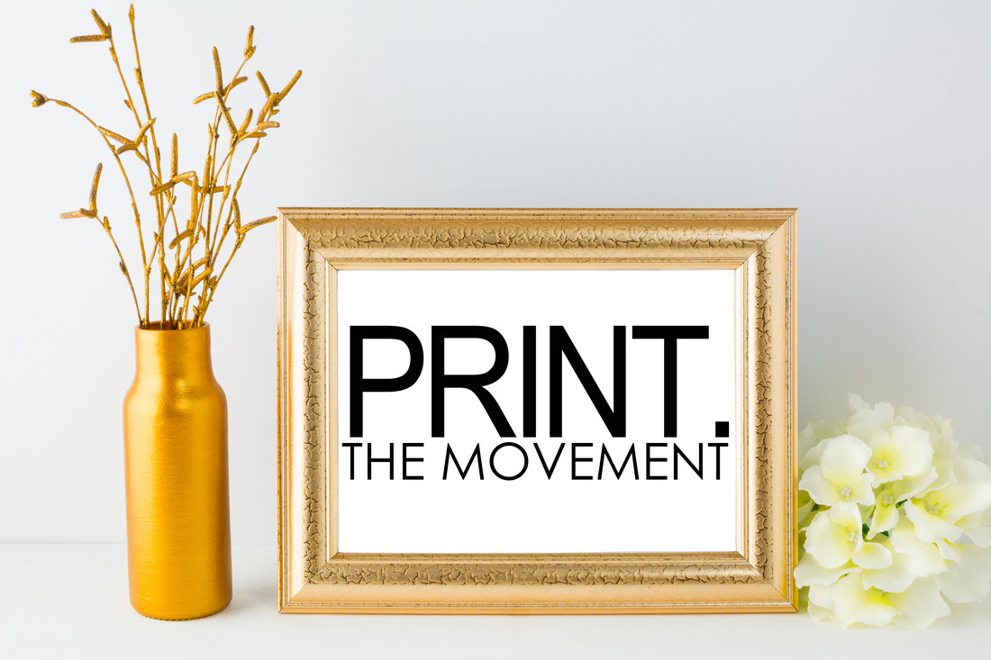 Print the Movement, Print what matters, Print your family memories, Print Artist, Wall Portraits