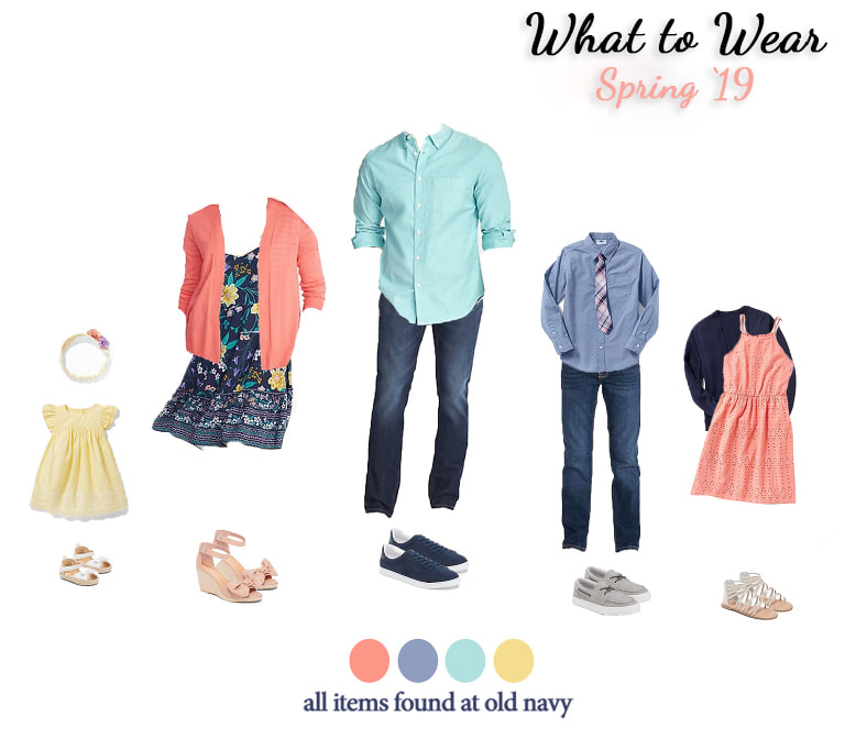 What to Wear for Spring Family Pictures in Northern Virginia and Los Angeles, California